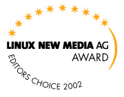 Linux New Media Award 2002